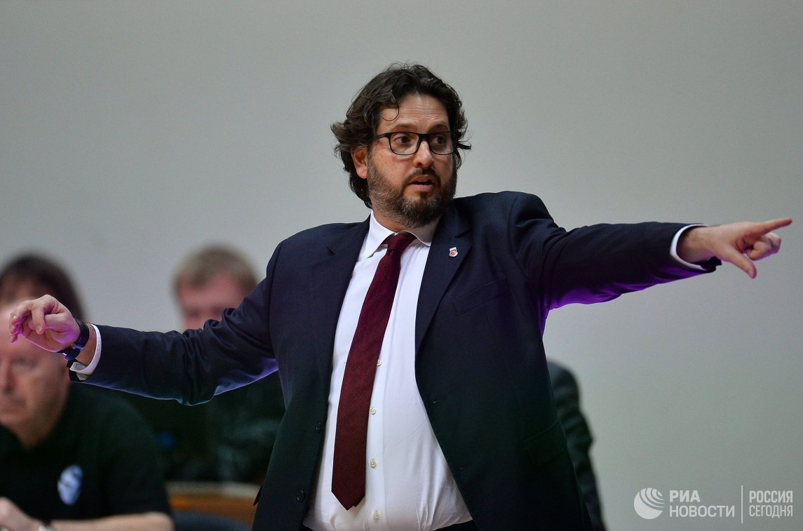 Главный тренер Бамберга Андреа Тринкьери