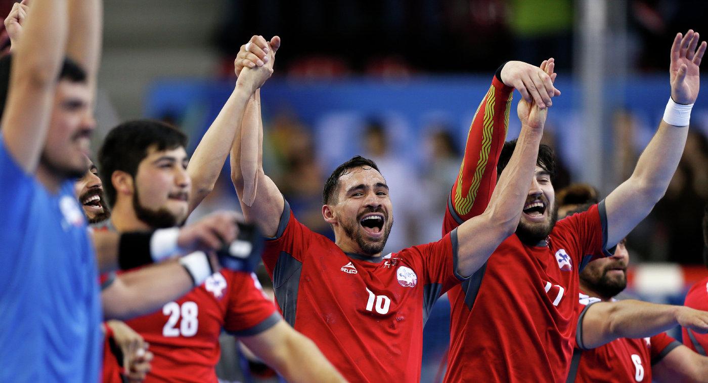 Гандболисты сборной Чили