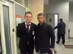 Виталий Двоеглазов и Сергей Семак (справа)