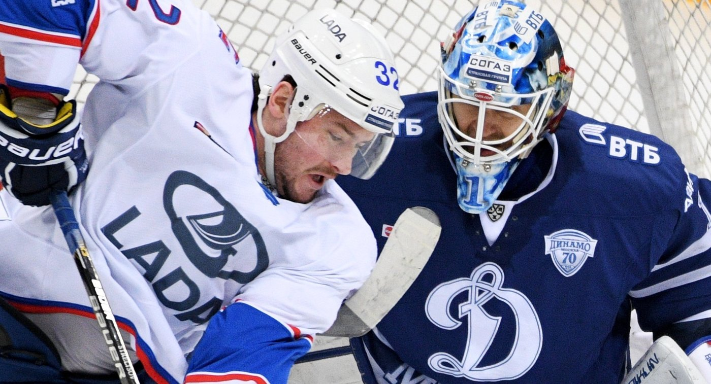 «Сибирь» переиграла «Ладу» надомашней арене— Хоккей