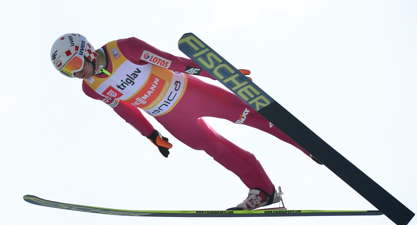"""Летающий лыжник Стох выиграл этап """"Турне четырех трамплинов"""""""