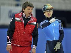Андрей Максимов и Семен Елистратов (слева направо)