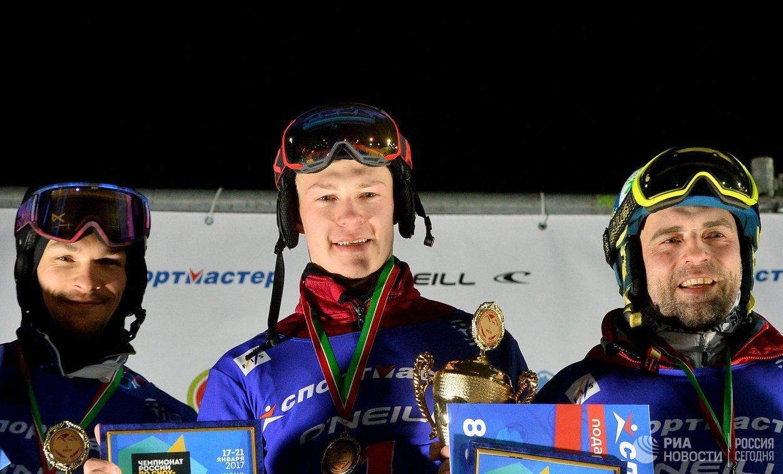 Вик Уайлд, Дмитрий Логинов и Станислав Детков (слева направо)