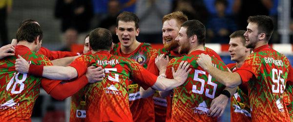 Гандболисты сборной Белоруссии