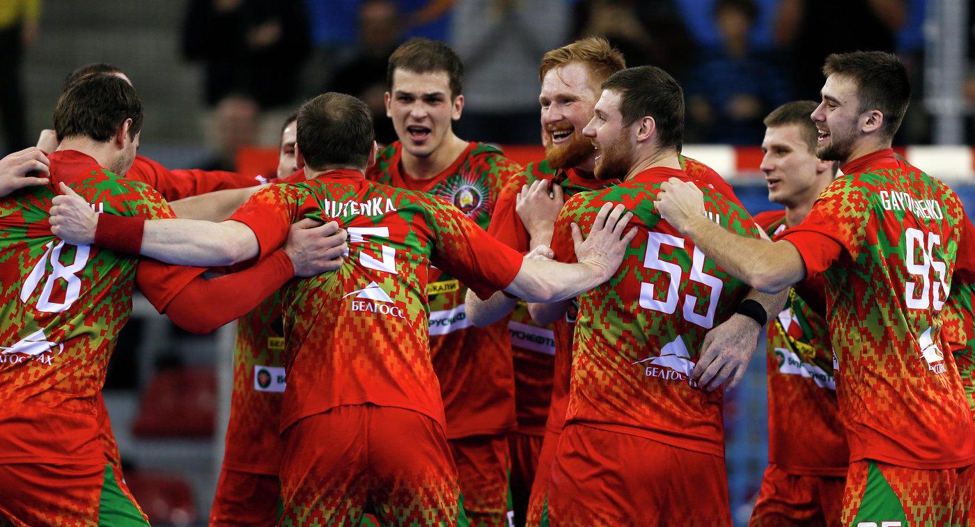 Сборная Республики Беларусь  спобеды стартовала намужском чемпионате Европы погандболу