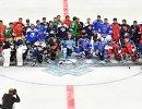 Участники мастер-шоу звезд Континентальной хоккейной лиги