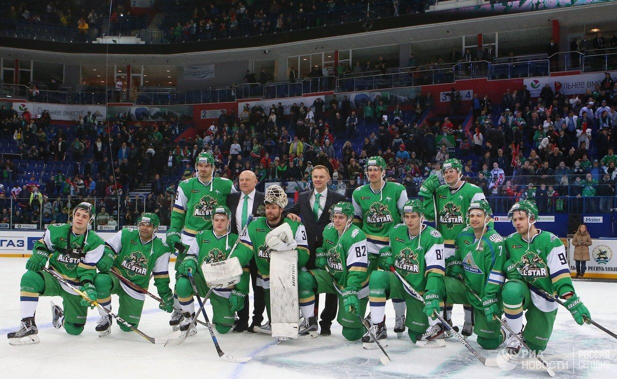Хоккеисты дивизиона Чернышева, победившие в Матче звезд КХЛ
