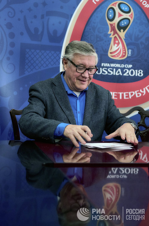 Комментатор Геннадий Орлов