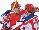 Нападающие ПХК ЦСКА Джефф Плэтт и Стефан Да Коста (слева направо)