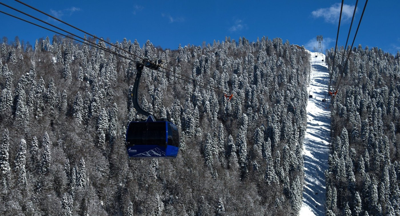 Зимние курорты Сочи