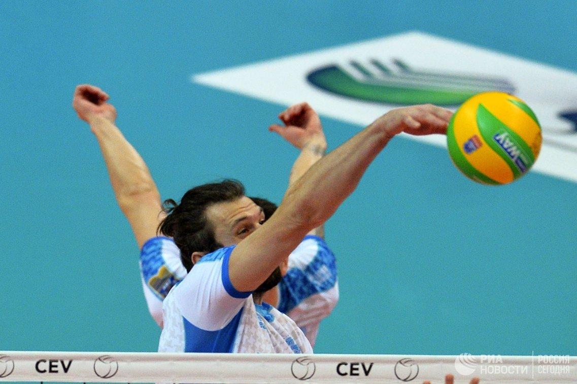Волейболист Зенит-Казань Александр Бутько