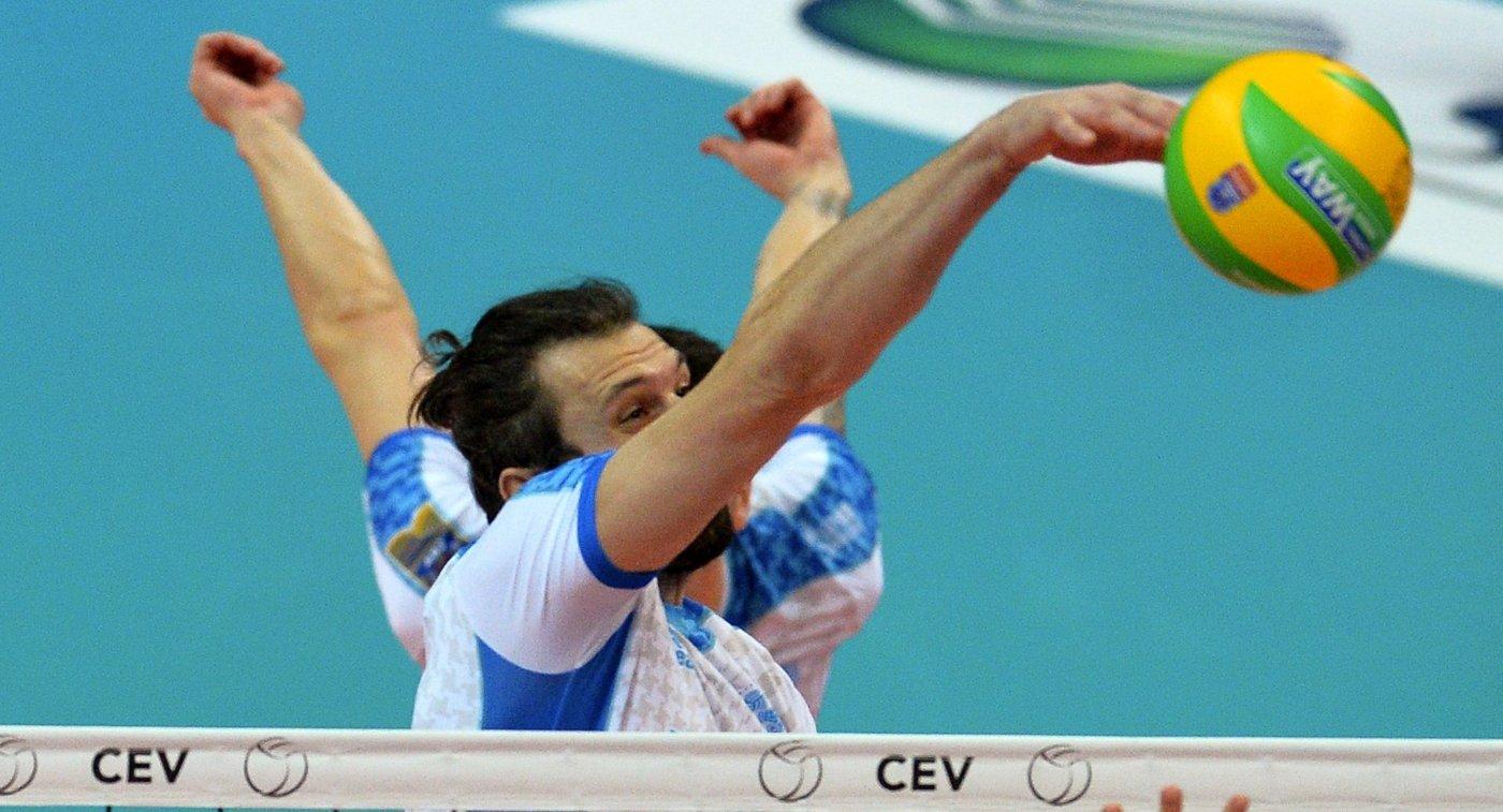 Волейболист Зенит Казань Александр Бутько
