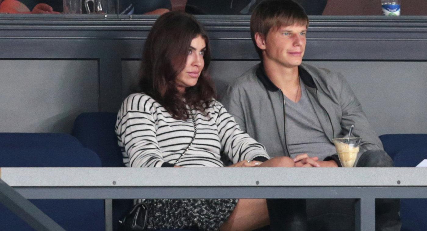 Андрей Аршавин иАлиса Казьмина разошлись после года брака