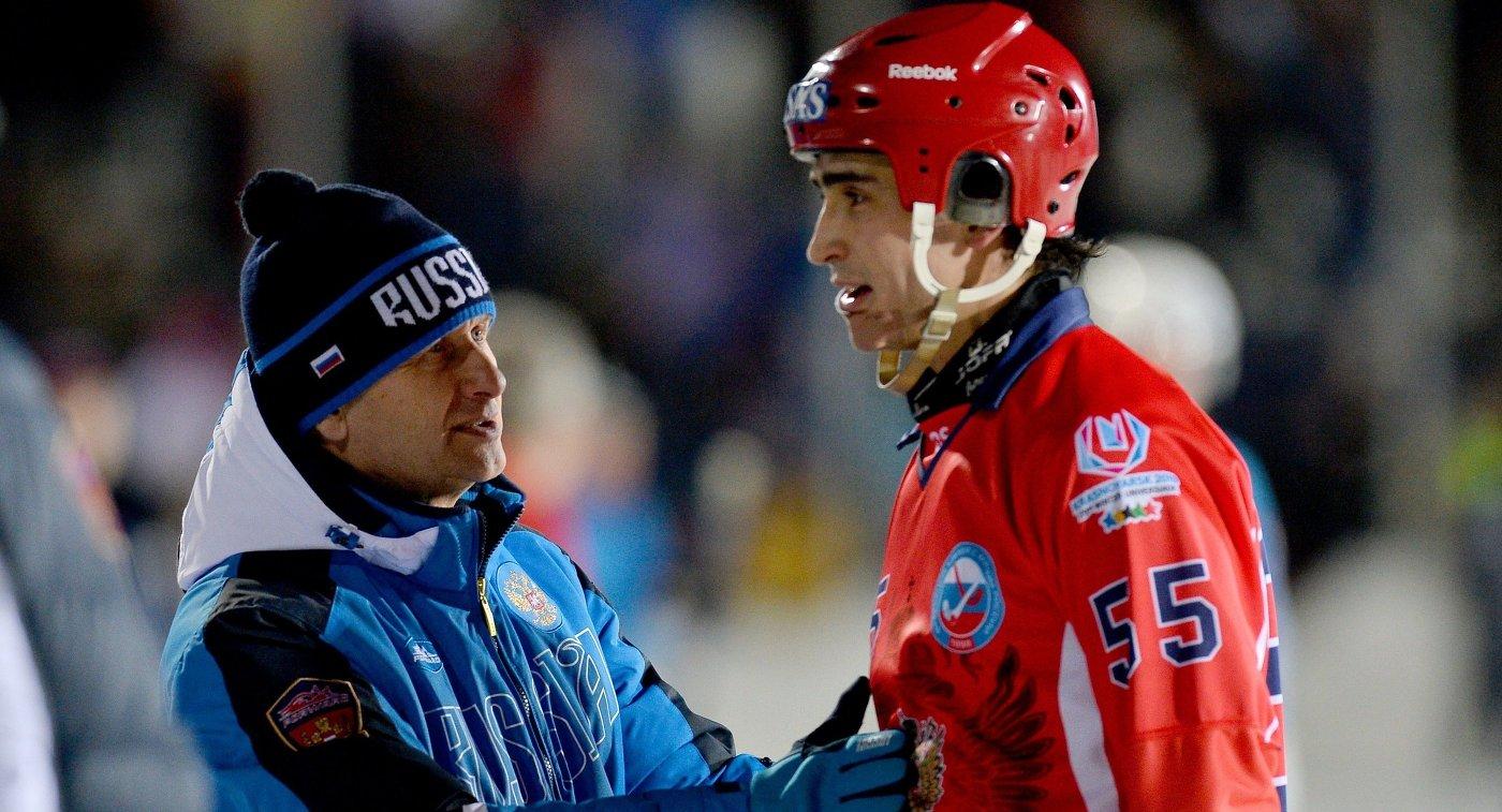 Сергей Мяус (слева) и Михаил Прокопьев