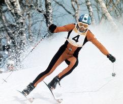 Швейцарский горнолыжник Бернард Русси