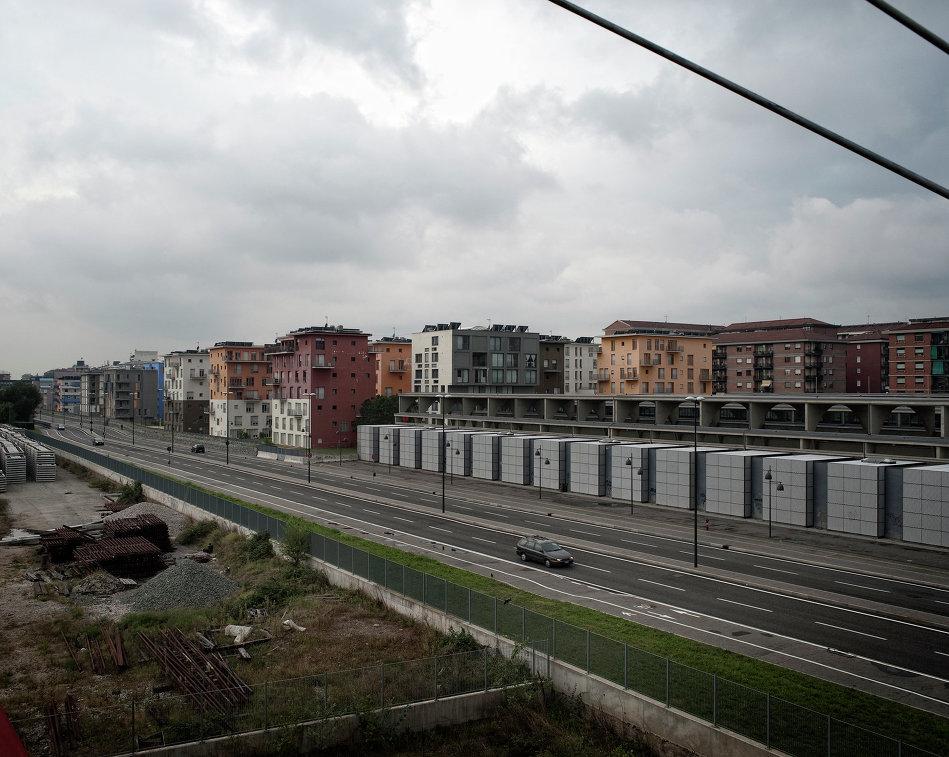 Олимпийская деревня в итальянском Турине, построеная для спортсменов зимних Игр-2006 года, в настоящее время заброшена