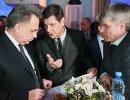 Виталий Мутко, Александр Жуков и Павел Колобков (слева направо)