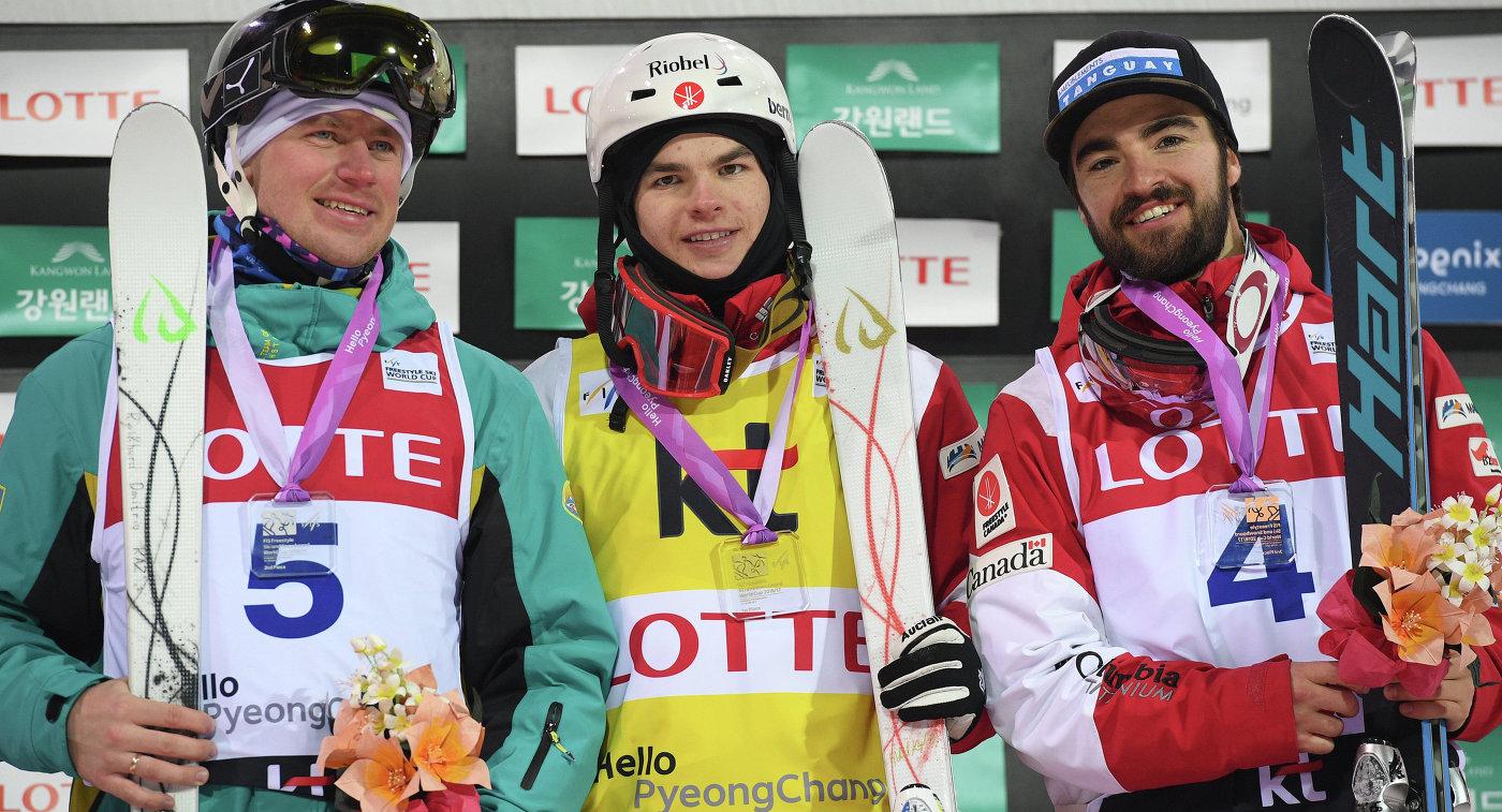 Дмитрий Рейхерд, Микаэль Кингсбери и Филипп Маркус (слева направо)