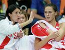 Анастасия Мыскина и Наталья Вихлянцева (слева направо)