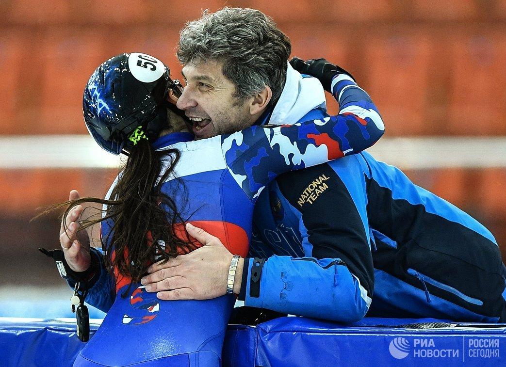 Россиянка стала чемпионкой Европы пошорт-треку