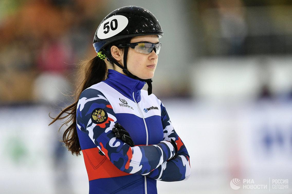 Просвирнова завоевала бронзу чемпионата Европы пошорт- треку надистанции 500м