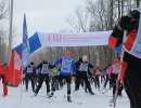 Испытания ГТО в рамках всероссийского забега Лыжня России-2017