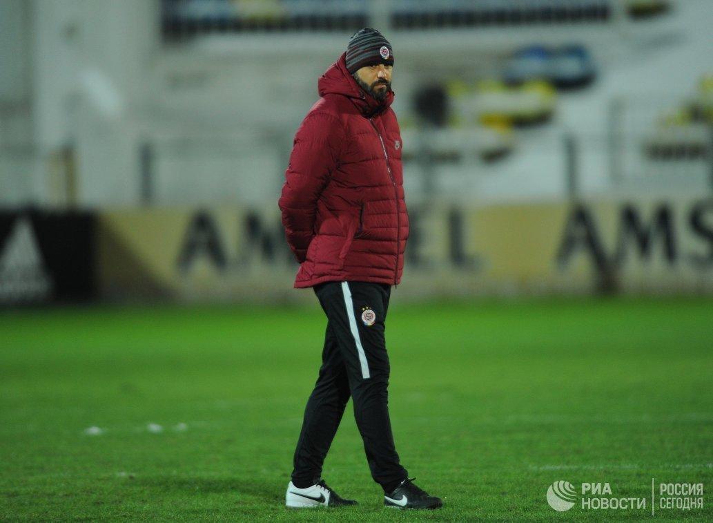 Тренер ФК Спарта (Прага, Чехия) Томаш Пожар