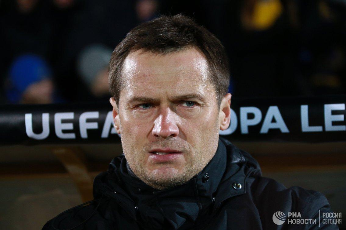 Тренер ФК Ростов Дмитрий Кириченко