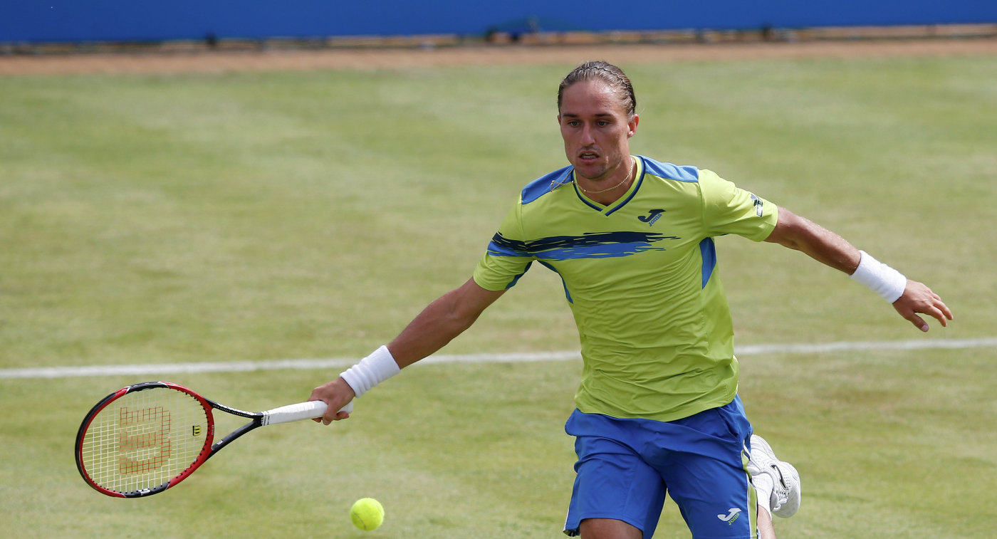 Украинский теннисист Александр Долгополов