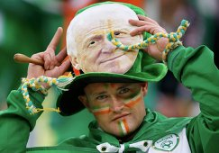 Болельщик сборной Ирландии