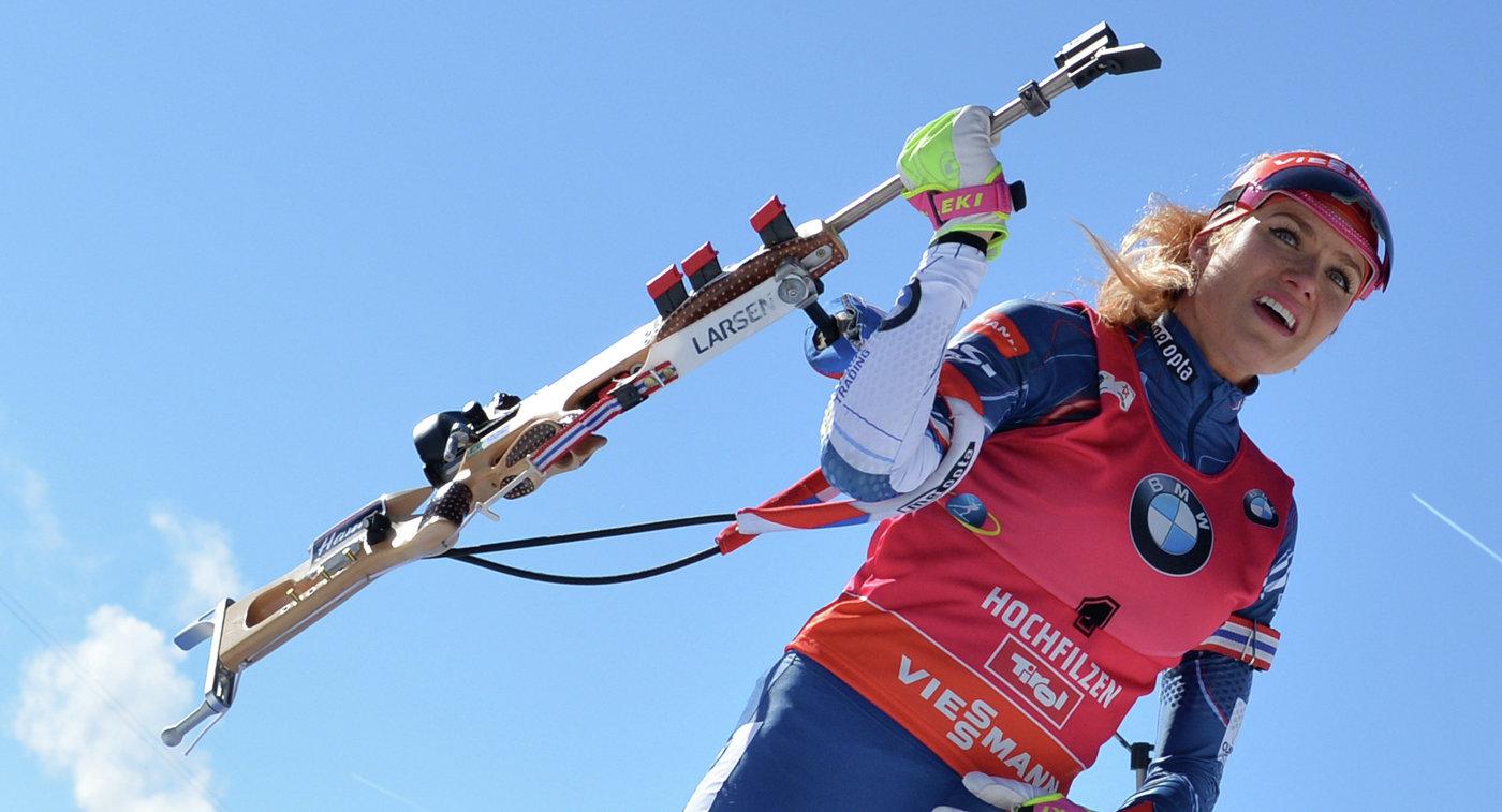 Призер Игр вСочи биатлонистка Коукалова может пропустить Олимпиаду