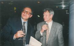 Знаменитый советский борец вольного стиля Александр Иваницкий и Борис Лагутин (слева направо)