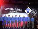 Презентация состава команды Газпром-Русвело на многодневную гонку Мирового тура Тур Абу-Даби