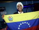 Венесуэльский лыжник Адриан Солано