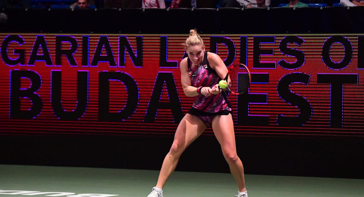 Бабош иГлавачкова выиграли итоговый теннисный турнир WTA впарном разряде
