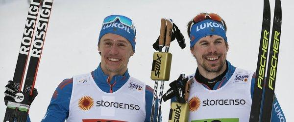 Сергей Устюгов (справа) и Никита Крюков