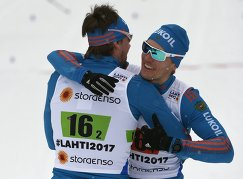 Сергей Устюгов и Никита Крюков (справа)