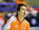 Голландский конькобежец Кай Вербай