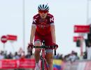 Российский велогонщик швейцарской команды Katusha-Alpecin Ильнур Закарин во время выступления на Туре Абу-Даби