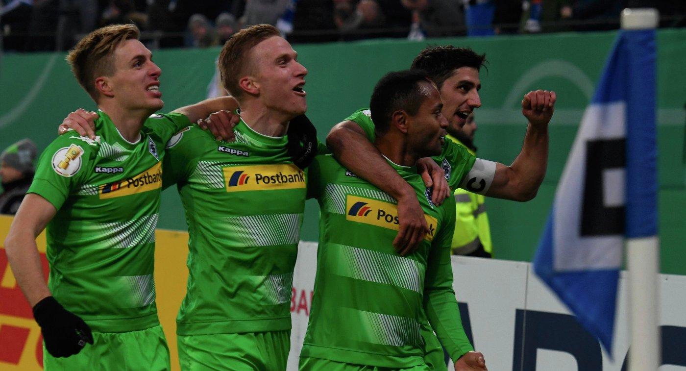 Футболисты «Боруссии» (Менхенгладбах) дома обыграли «Штутгарт» в5-м туре бундеслиги