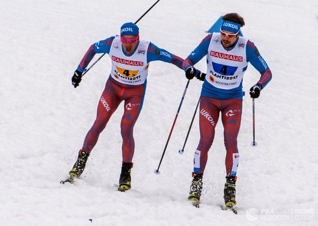 Алексей Червоткин (слева) и Сергей Устюгов