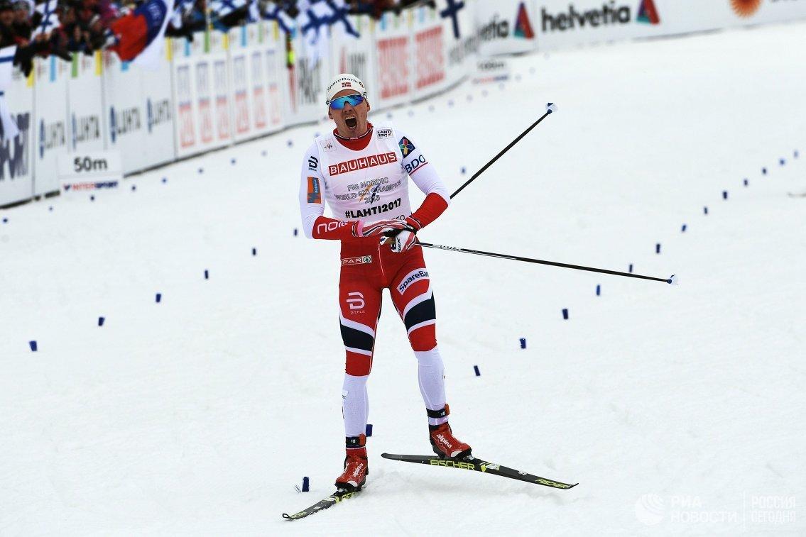 Норвежский спортсмен Хааген Крог