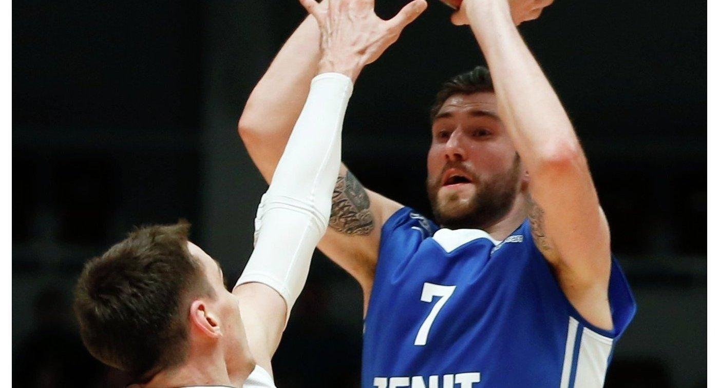 «Зенит» обыграл «Ульм» вматче баскетбольного Еврокубка