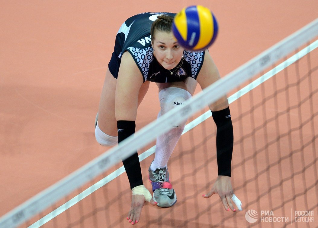 Волейболистка Динамо (Казань) Ирина Воронкова