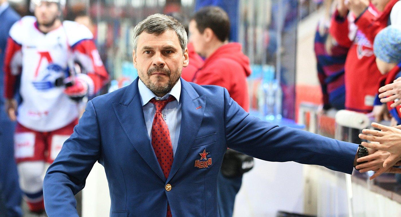 Никитин: ХКЦСКА будет интересно сыграть с«Локомотивом», если его возглавит Квартальнов