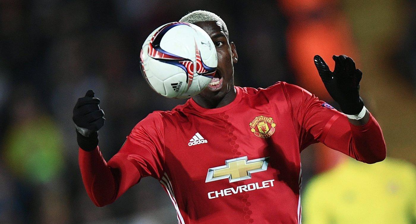 Полузащитник ФК Манчестер Юнайтед Поль Погба