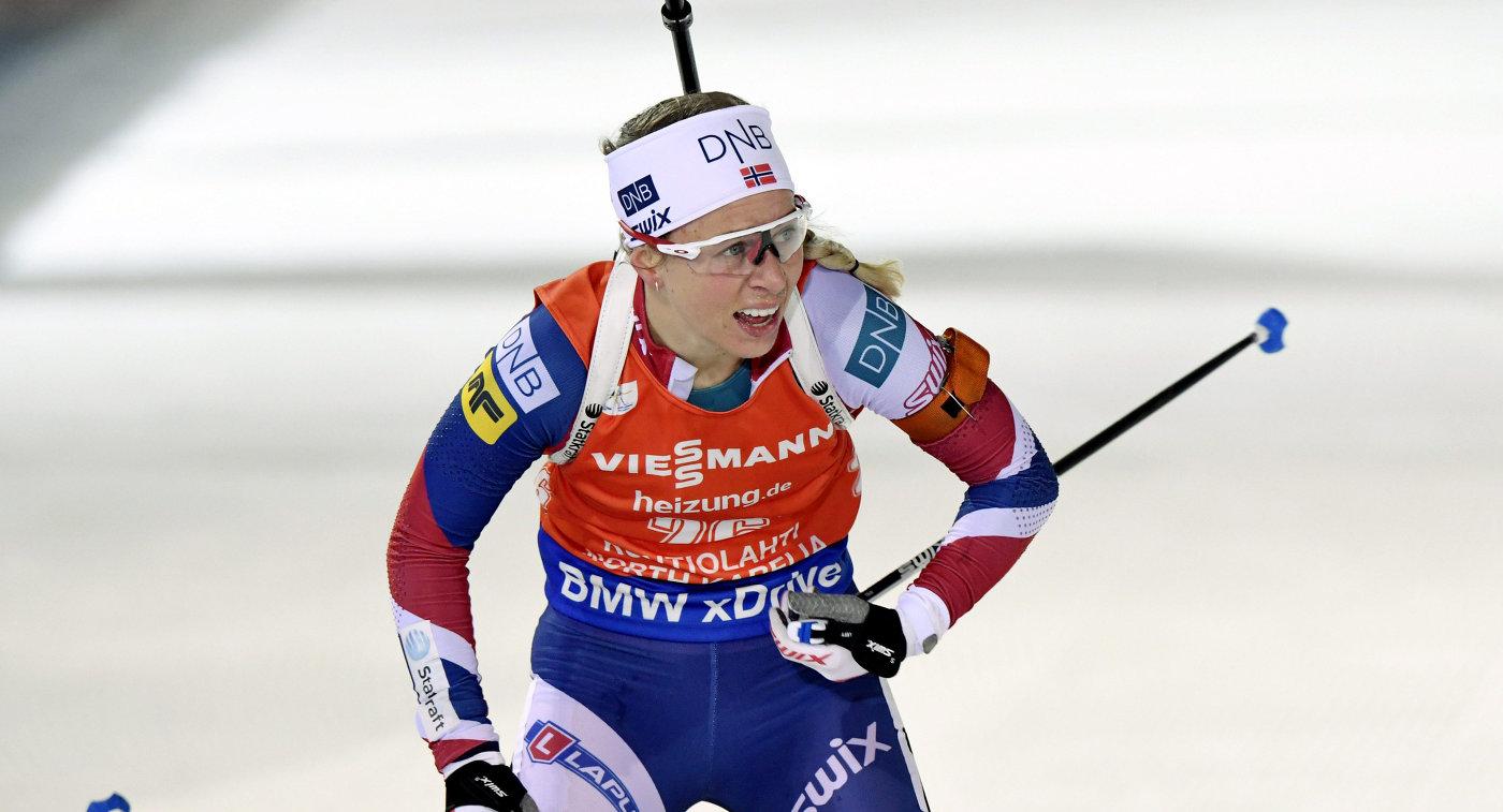 Биатлонистка Юрлова была рада справиться сострельбой внепростых условиях