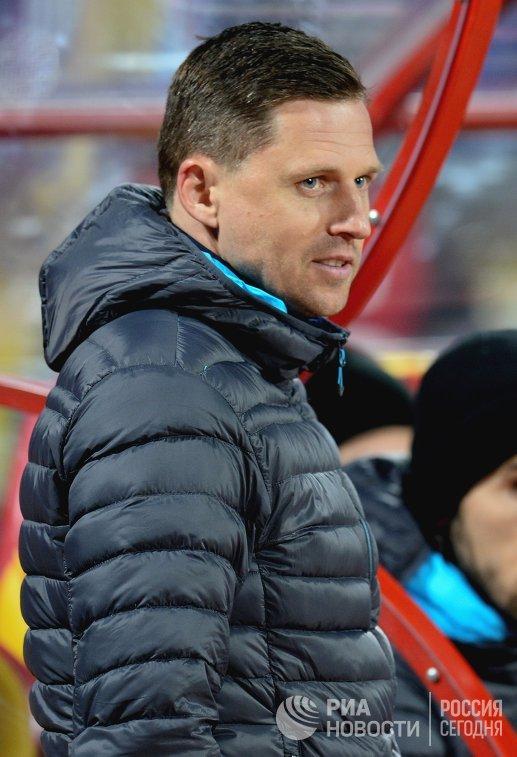 Тренер Арсенала Игорь Семшов
