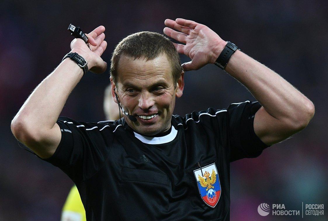 Главный судья Александр Егоров