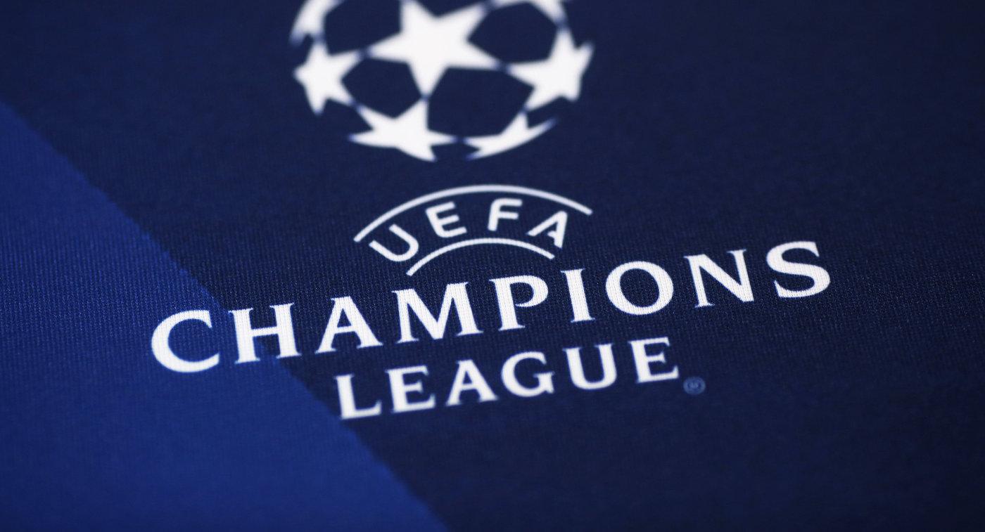 Логотип футбольной Лиги чемпионов
